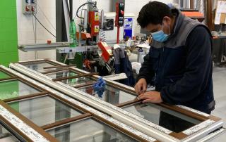 Produzione di serramenti in PVC